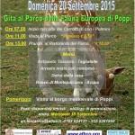 69 C Locandina  Gita al Parco di Poppi 2015